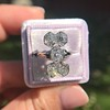 2.50ctw Geometric Old Mine Cut Diamond Dinner Ring 1