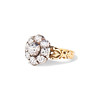 1.05ctw Victorian Old Mine Cut Cluster Ring 1
