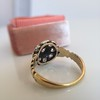 1.05ctw Victorian Old Mine Cut Cluster Ring 13