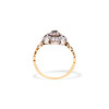 1.05ctw Victorian Old Mine Cut Cluster Ring 2