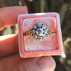 1.05ctw Victorian Old Mine Cut Cluster Ring 23