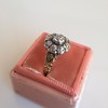 1.05ctw Victorian Old Mine Cut Cluster Ring 21