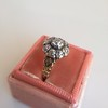 1.05ctw Victorian Old Mine Cut Cluster Ring 19