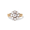 1.05ctw Victorian Old Mine Cut Cluster Ring 0