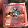 1.05ctw Victorian Old Mine Cut Cluster Ring 20