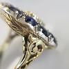 4.55ctw Victorian-era Sapphire and Rose Cut Diamond Ring 39
