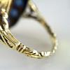 4.55ctw Victorian-era Sapphire and Rose Cut Diamond Ring 21
