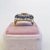 4.55ctw Victorian-era Sapphire and Rose Cut Diamond Ring 12