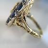 4.55ctw Victorian-era Sapphire and Rose Cut Diamond Ring 31