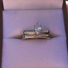 0.36ct Vintage Marquise Wedding Set 48