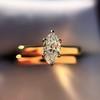 0.36ct Vintage Marquise Wedding Set 22