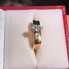 0.36ct Vintage Marquise Wedding Set 17