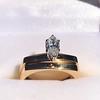 0.36ct Vintage Marquise Wedding Set 14