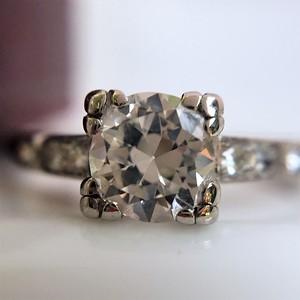 .50ct Transitional Cut Diamond Art Deco Solitaire