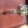 .69ct Transitional Cut Diamond Solitaire 7
