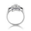 2.40ctw Art Deco Old European Cut Diamond Geometric Dinner Ring 2