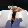 2.35ctw Old Mine and Cushion Cut Victorian Cluster Ring 8