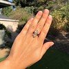 2.35ctw Old Mine and Cushion Cut Victorian Cluster Ring 52