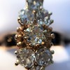 2.35ctw Old Mine and Cushion Cut Victorian Cluster Ring 73