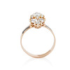 2.35ctw Old Mine and Cushion Cut Victorian Cluster Ring 2