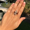 2.35ctw Old Mine and Cushion Cut Victorian Cluster Ring 49