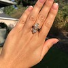 2.35ctw Old Mine and Cushion Cut Victorian Cluster Ring 50