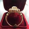2.35ctw Vintage Old Mine and Antique Cushion Cluster Ring 2
