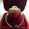 2.35ctw Vintage Old Mine and Antique Cushion Cluster Ring 20