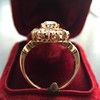 2.35ctw Vintage Old Mine and Antique Cushion Cluster Ring 21