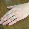 2.35ctw Vintage Old Mine and Antique Cushion Cluster Ring 11