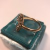 Victorian Turquoise and Diamond Navette Ring 16