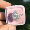 .93ctw Vintage Marquise Cut Diamond Navette Ring 15