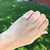 .93ctw Vintage Marquise Cut Diamond Navette Ring 28