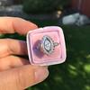 .93ctw Vintage Marquise Cut Diamond Navette Ring 18