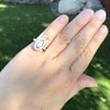 .93ctw Vintage Marquise Cut Diamond Navette Ring 23