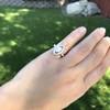 .93ctw Vintage Marquise Cut Diamond Navette Ring 22