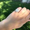 .93ctw Vintage Marquise Cut Diamond Navette Ring 27
