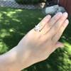 .93ctw Vintage Marquise Cut Diamond Navette Ring 24