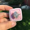 .93ctw Vintage Marquise Cut Diamond Navette Ring 16