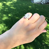.93ctw Vintage Marquise Cut Diamond Navette Ring 11