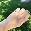 .93ctw Vintage Marquise Cut Diamond Navette Ring 11