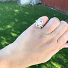 .93ctw Vintage Marquise Cut Diamond Navette Ring 25