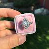 .93ctw Vintage Marquise Cut Diamond Navette Ring 17