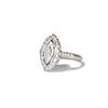 .93ctw Vintage Marquise Cut Diamond Navette Ring 1