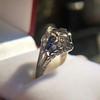 Art Deco Sapphire and Diamond Mounting 5