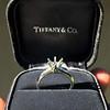 Vintage 6-prong Tiffany Mounting, Platinum 4