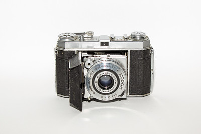 Kodak Retina, one of two I have. This one was bought used a while ago. .