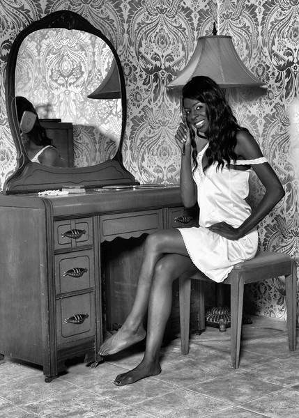 Vintage style boudoir