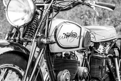 Norton vintage motorcycle