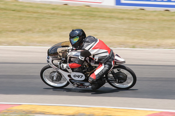 AHRMA Vintage Motorcycle Racing Road America June 2012